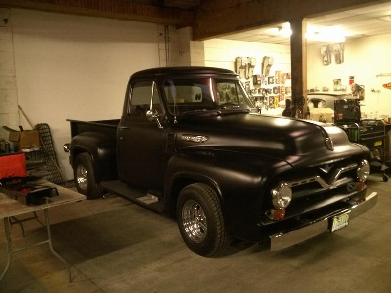 1955 Chevy Truck For Sale >> 1955 Ford F-100 Pickup, 1953 Jaguar, 1955 Chevy